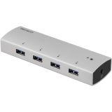 DELTACO PRIME USB 3.0 hubb, 4x USB Typ A hona
