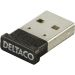 DELTACO Bluetooth 4.0 adapter, USB 2.0, CSR 4.0, 3 Mb/s, sva