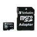 Verbatim 16GB MicroSDHC Minneskort med adapter, Class 10