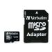 Verbatim 16GB MicroSDHC Minnekort med adapter, Class 10