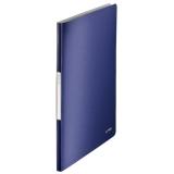 Displaybog Leitz Style PP 20 lommer blå