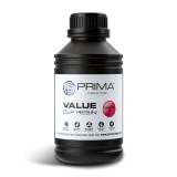 PrimaCreator Value UV / DLP Resin - 500 ml - Röd Transparent