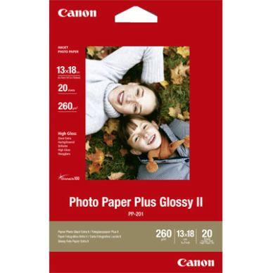 Canon Fotopapir Glossy Plus 13x18 20 ark 260g PP-201 Modsvarer: N/A