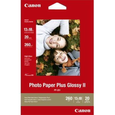 CANON Fotopapir Glossy Plus 13x18 20 ark 260g