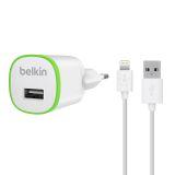 Belkin Väggladdare, USB, 1 A, Lightningkabel