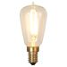 Decoration LED Klar filament lampa E14, 1,8W