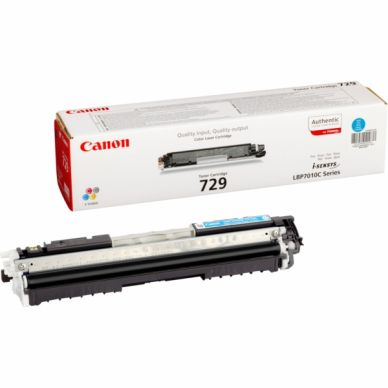 CANON Värikasetti cyan 1.000 sivua (CRG 729)