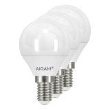 Airam LED Klotlampa E14, 4W , 3-pack
