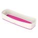 Innsats Lang til Leitz MyBox® Hvit/Rosa