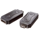 Vivanco Adapter HDMI A hona - HDMI C hane (Mini HDMI)