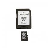 Intenso Micro SDHC 64GB UHS-I Premium
