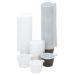 Kahvikuppi 21 cl, muovi, ruskea/valkoinen, 50 kpl
