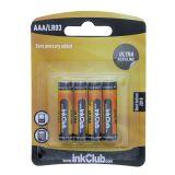 Batteri 1,5V, AAA LR03 (4-pack)