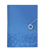 Projektmapp Leitz WOW PP blå