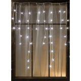 Airam ljusslinga LED, istappar, 140 st lampor, 3,5 m