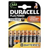 Duracell AAA/LR03 8-pack