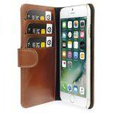 Plånboksfodral i läder, iPhone 7/8, Brun
