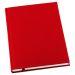 Muistikirja Grieg Design A5 viivoitettu, punainen