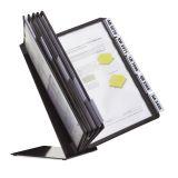 Bordställ VARIO A4 med 10 ramar svart