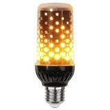 Dekoration LED Eldlampa E27 LED Svart 1800K