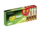 GP Super Alkaline AAA, Promo 8+4