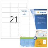 Etikett HERMA Premium A4 63,5x38,1 (100)