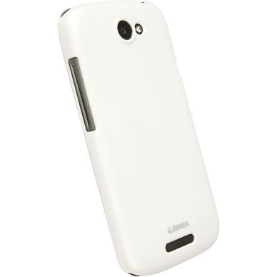 Krusell ColorCover, shell for HTC One S, white