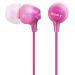 Sony Hörlurar in-ear MDR-EX15LP Rosa