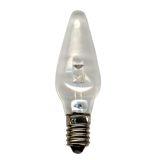 Universal E10 LED 0,2W Klar, 3 st.