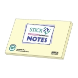 Notes 76x127 mm gul resirkulert papir  (12)