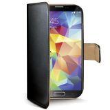 Celly Wallet Case Galaxy S5 Svart/Beige