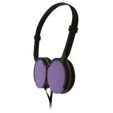 Maxell MXH-HP200 SUPER SLIM HEADPHONES PURPLE