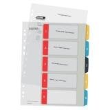 Leitz Cosy 1-5 register for PC utskrift