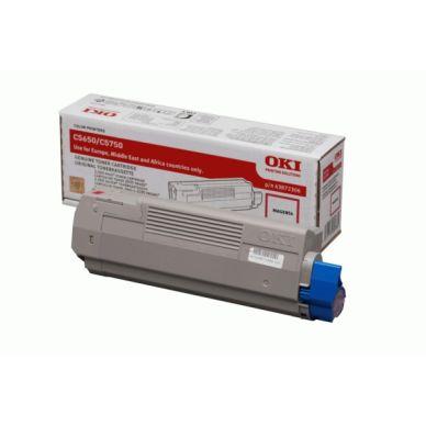 OKI C 5650/5750 M lasertoner – 43872306  – Magenta 2000 sider