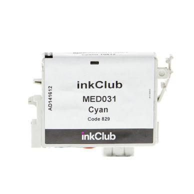 inkClub Mustepatruuna cyan, 420 sivua