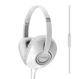 Koss hovedtelefoner UR23iW On-Ear one touch mic, hvid