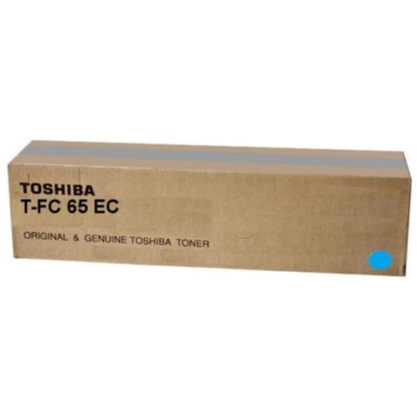 Pris på TOSHIBA Tonerkassett cyan 29.500 sider T-FC65EC Tilsvarer: N/A