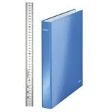 Rengaskansio Leitz Wow A4+4RR 29 mm, sininen