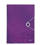 Kokouskansio Leitz WOW PP violetti