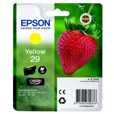 Epson Epson 29 Blækpatron gul, 180 sider T2984 Modsvarer: N/A