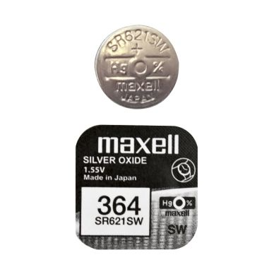 Maxell Pile bouton SR621SW / 364 MAXELL