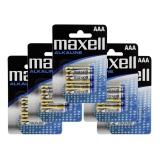 Maxell Batterier LR03/AAA Alkaliske 20-pakk