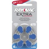Rayovac EXTRA advanced 675 BLÅ
