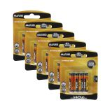 Batteri 1,5 V AAA,(LR03) Alkaliske (20-pakk)