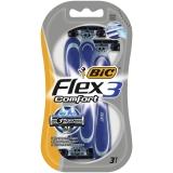 BIC Flex 3 Comfort Rakhyvlar, 3 st