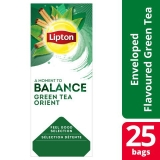 Lipton Green Tchae Orient pakke med 25 stk.