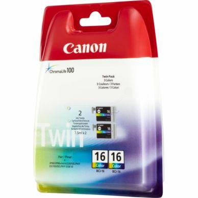 CANON Mustepatruuna 3-väri 2-pakkaus 2x7.5ml