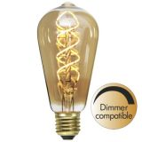Dekoration LED filament E27 ST64 2000K 130lm Dimmer