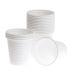 Plastbeger 12cl hvit (80)
