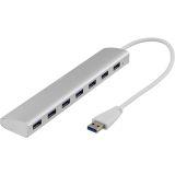 DELTACO USB 3.0 hubb, 7xTyp A hona